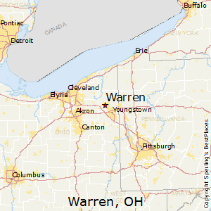 Comparison Warren Ohio Van Wert Ohio