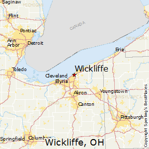 Wickliffe,Ohio Map