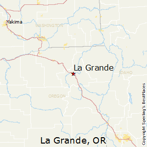 La_Grande,Oregon Map