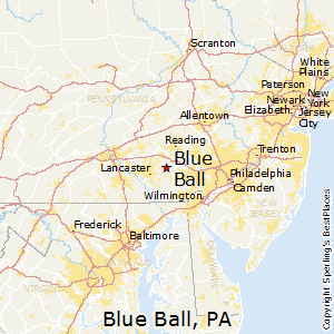 Blue_Ball,Pennsylvania Map