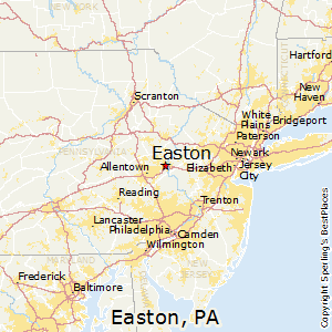 Best Places to Live in Easton Pennsylvania