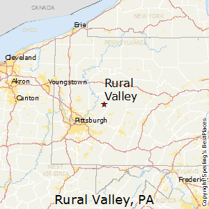 Rural_Valley,Pennsylvania Map