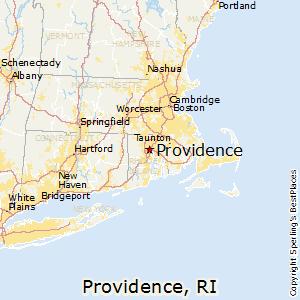 Providence,Rhode Island Map