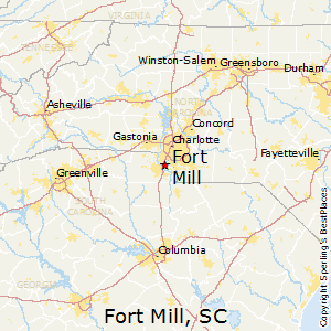 Fort_Mill,South Carolina Map