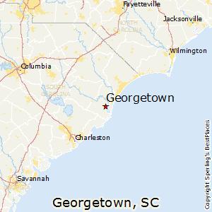 Comparison Jonestown Texas  Georgetown South Carolina