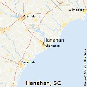 Comparison Hanahan South Carolina Douglasville Georgia - Georgia map douglasville