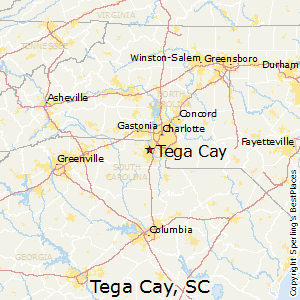 Tega_Cay,South Carolina Map