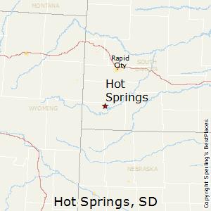 Comparison Whitewood South Dakota Hot Springs South Dakota - Usa map south dakota