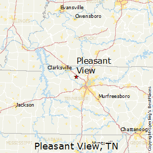 Pleasant_View,Tennessee Map