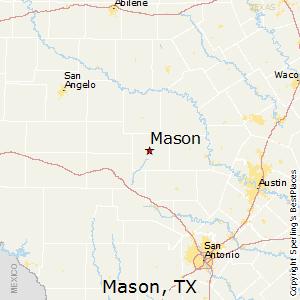 Comparison Mason Texas Ramona California - California map ramona