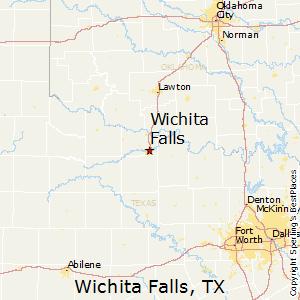 Wichita_Falls,Texas Map