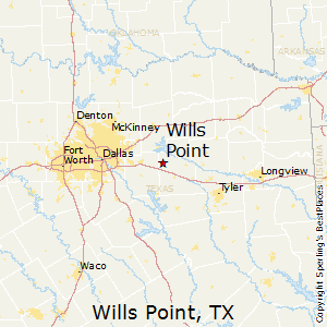 Wills_Point,Texas Map