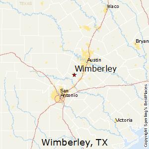 Wimberley,Texas Map