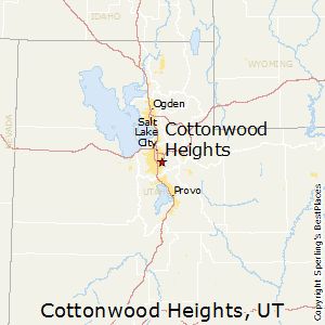 Cottonwood_Heights,Utah Map