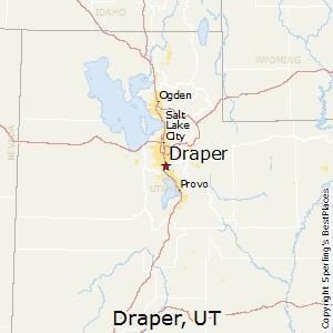 Draper,Utah Map