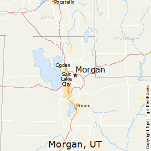 Morgan,Utah Map