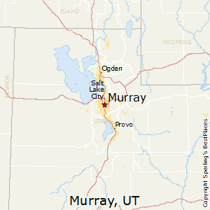 Murray,Utah Map