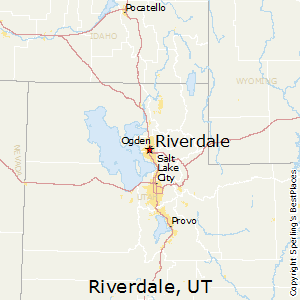 Riverdale,Utah Map