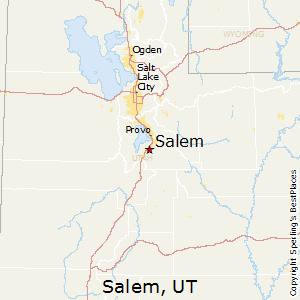 Salem,Utah Map