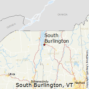 South_Burlington,Vermont Map