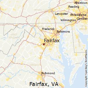 Comparison Fairfax Virginia Annandale Virginia