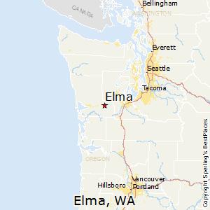 Comparison: Olympia, Washington - Elma, Washington
