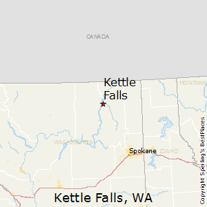 Kettle_Falls,Washington Map