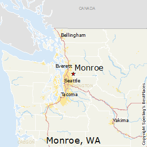 Bartow Florida Map.Comparison Monroe Washington Bartow Florida