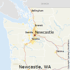Newcastle,Washington Map