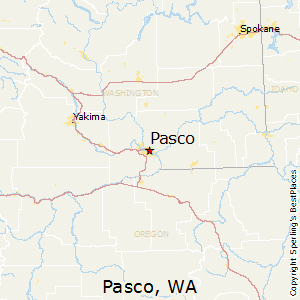 Pasco,Washington Map