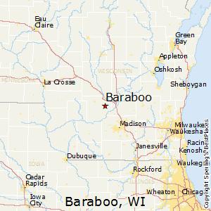 Marion Wisconsin Map.Comparison Baraboo Wisconsin Marion Iowa