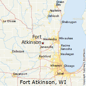 Fort_Atkinson,Wisconsin Map