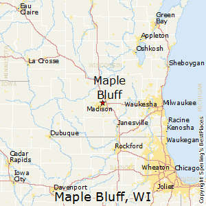 Maple_Bluff,Wisconsin Map
