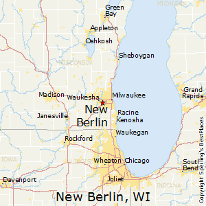New_Berlin,Wisconsin Map