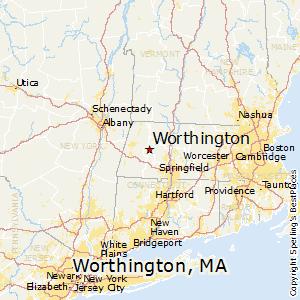 Comparison Worthington Massachusetts Cloverdale California