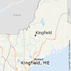 Comparison Madison Maine Kingfield Maine
