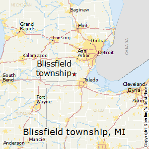 Blissfield_township,Michigan Map