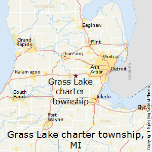 Grass_Lake_charter_township,Michigan Map