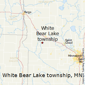 White_Bear_Lake_township,Minnesota Map