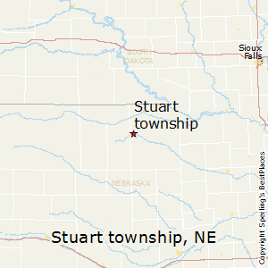 Stuart_township,Nebraska Map