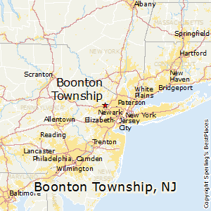 Boonton_township,New Jersey Map