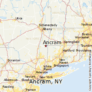Ancram,New York Map