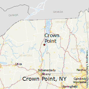 Crown_Point,New York Map