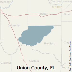 Union,Florida County Map