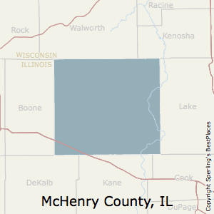 McHenry,Illinois County Map