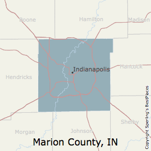 Marion,Indiana County Map