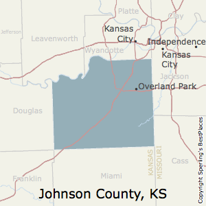 Johnson,Kansas County Map