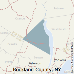Rockland,New York County Map