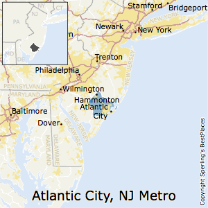Atlantic_City-Hammonton,New Jersey Metro Area Map