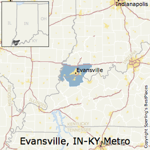 Best Places To Live In Evansville Metro Area Indiana